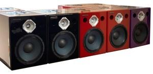 Jones-Scanlon recording studio monitors - sound track mastering
