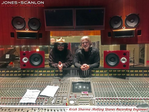 Don Was (Producer) & Krish Sharma (Rolling Stones Recording Engineer)