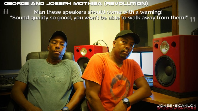JOSEPH AND GEORGE MOTHIBA (REVOLUTION) - Top South African Recording Artists, Producers, Mixing Engineers and Record Label Owners