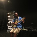 Wayne Jones AUDIO endorsee - Nathaniel Phillips - bass player