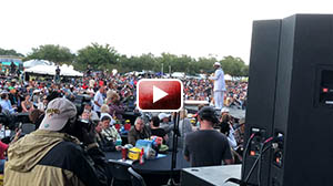 Nick Colionne at Seabreeze Jazz Festival 2018, GBody on bass