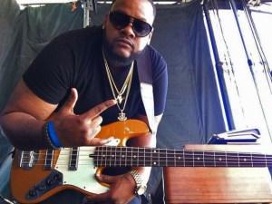 Thaddeus Johnson, bass player with 2018 McDonald's Gospel Celebration Tour