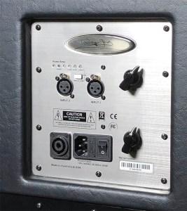 Wayne Jones Audio - 1000 Watt 1x10 Stereo/Mono Guitar Speaker Cabinets (500 watts per side) - Control Panel