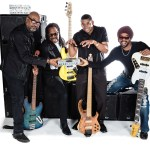 Final photo edit of Wayne Jones AUDIO endorsees. Bass players, Carl Young, Nathaniel Phillips, David Dyson, Andre Berry.