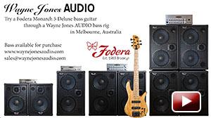Wayne Jones introduces a Monarch 5 Deluxe bass guitar