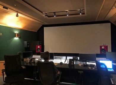 Warner Bros. Jones-Scanlon Studio Monitors demonstration, September 2018