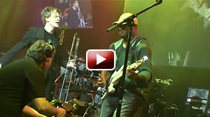 Maurice Fitzgerald bass solo during Brian Culbertson gig