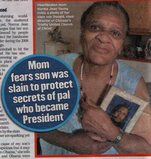 Obama gay scandal