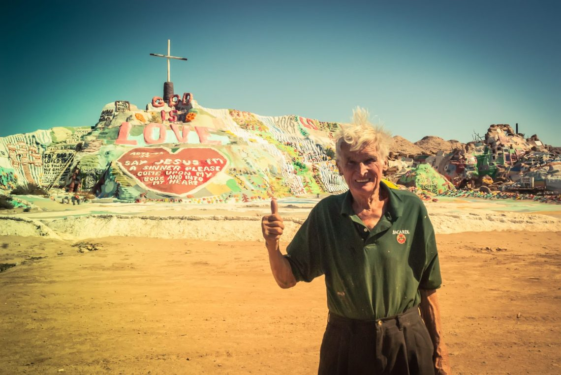 The Man behind Salvation Mountain