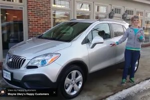 2015 Buick Enclave and Angie