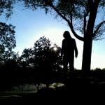 Nick silhouette side