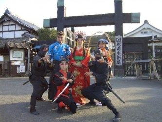 Historical theme park which reproduces Ureshino Town during the Edo Period