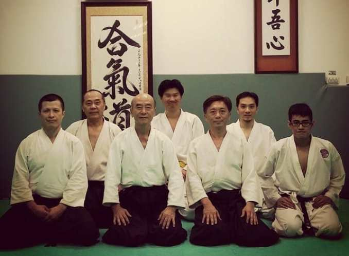Aikido training in Taipei as a guest