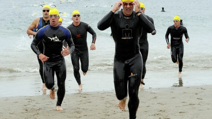 Train for triathlon transitions