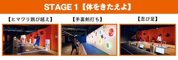Stage 1 Ninja Exhibit