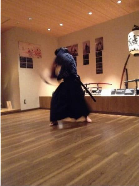 Samurai swordsmanship demonstration (2)