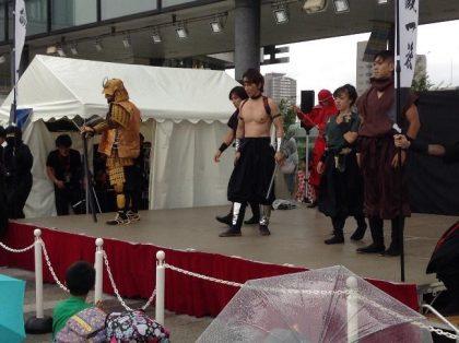 Ninja Groups at SkyTree