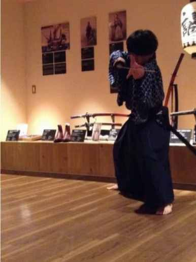 Samurai swordsmanship demonstration (4)