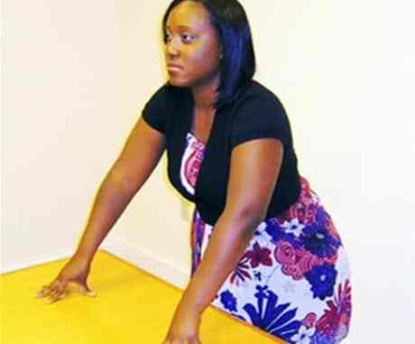 Leaning in like a CEO (Power pose pictures)