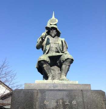 Kato Kiyomasa (加藤 清正) statue
