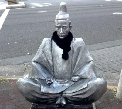 Toyotomi Hideyoshi statue