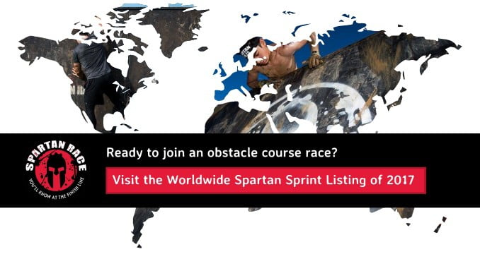 Find a Spartan Sprint in your region
