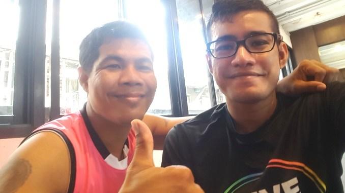 Logen and Boxing King Muay Thai's trainer (Way Of Ninja)