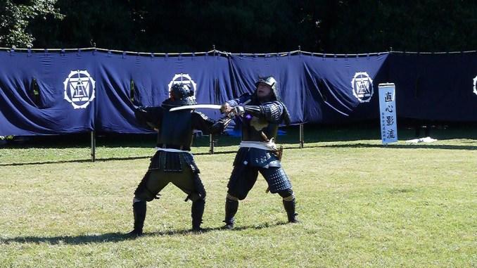 Samurai demonstration
