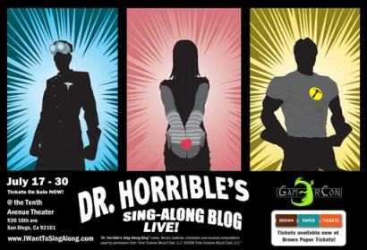 Dr Horrible's Sing Along Blog LIVE!