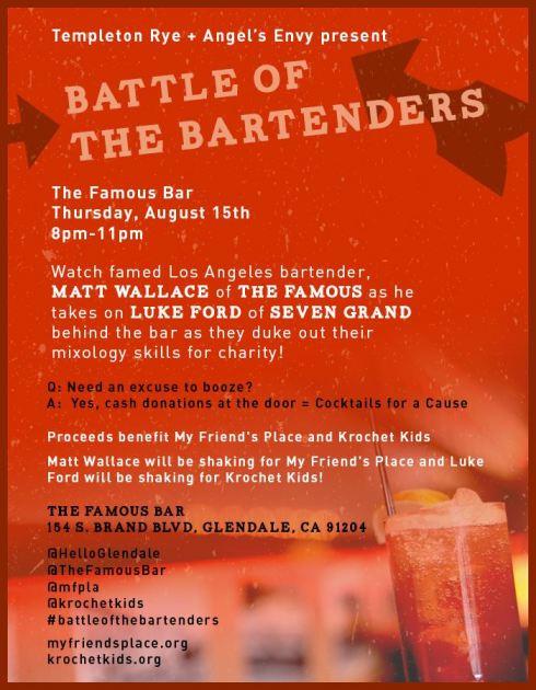 Battle of the Bartenders - Matt Walace & Luke Ford
