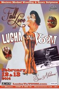 Lucha Vavoom Valentines 2014