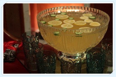 Travelling Emporium Punch with Hendricks Gin