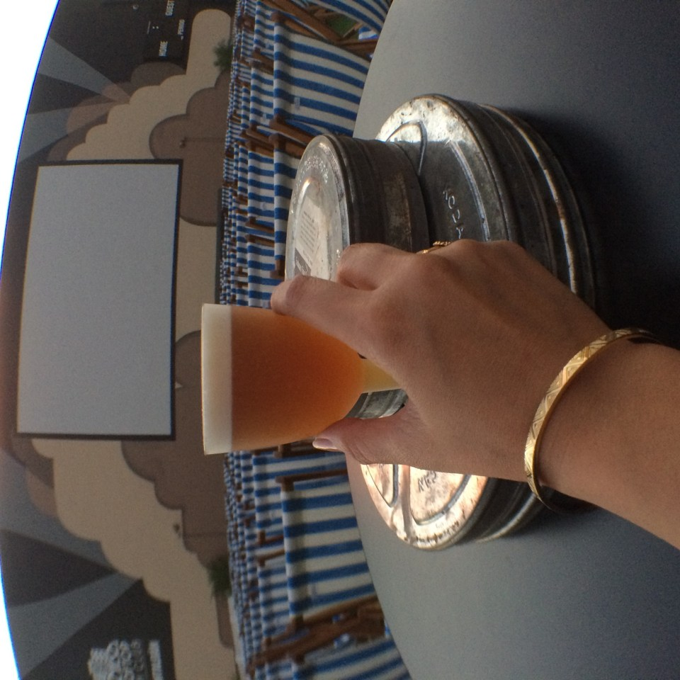 Beer Cocktail at Rooftop Film Club