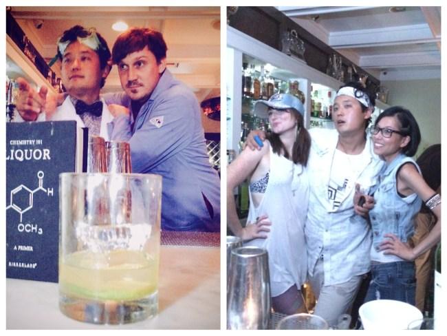 Big Bar Mixtapes Past LT (Eugene Lee & Chris Day) RT (Flo Hartigan, Eugene Lee, Cari Hah)