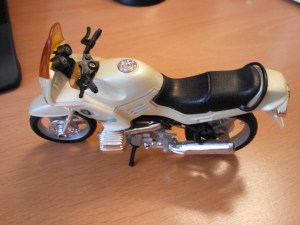 My tiny motorbike BMW R1100RS