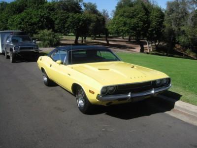 Bright Yellow Challenger