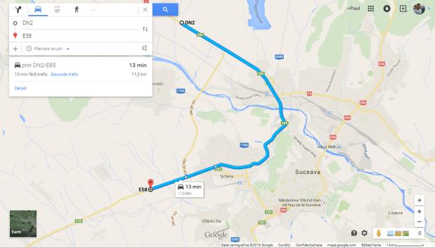 DN VO 2P - google maps