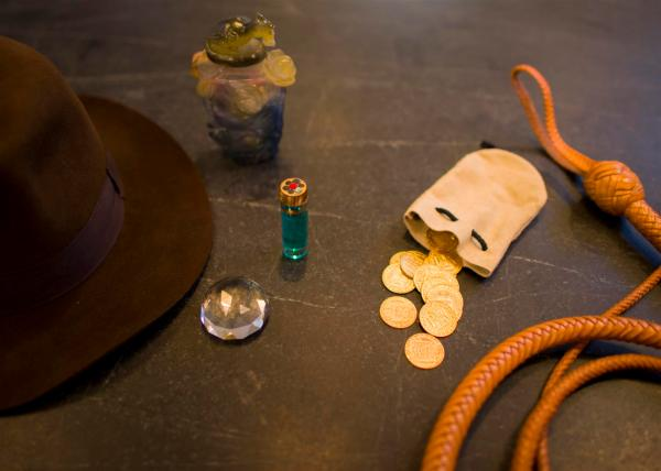 Indiana Jones Jacket And Chilled Monkey Brains Prop - Year