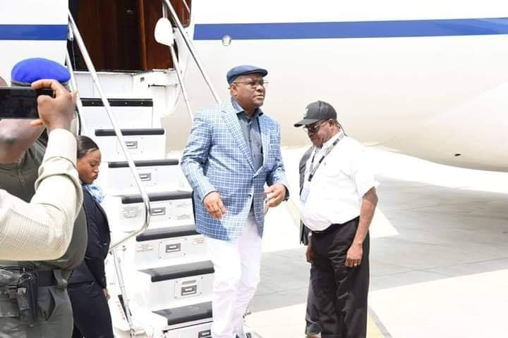 Governor Wike Returns to Port Harcourt After AIPS 83rd Congress, Receives Rousing Welcome
