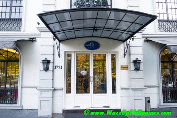 Cafe 1771 Entrance