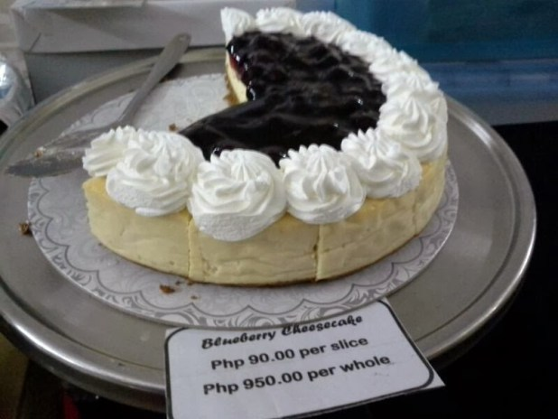 Blueberry Cheesecake of Cakes by K
