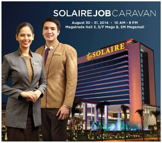 solaire resorts job fair