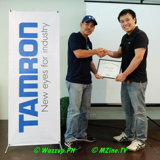 Tamron Annouces new Image Master Ricky Ladia-5002