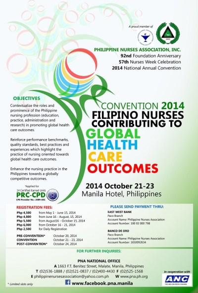 philippine nurses association poster