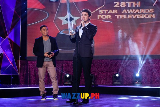 Arjo Atayde - Best Single Performance by an Actor - 28th PMPC Star Awards for Television 2014-1034