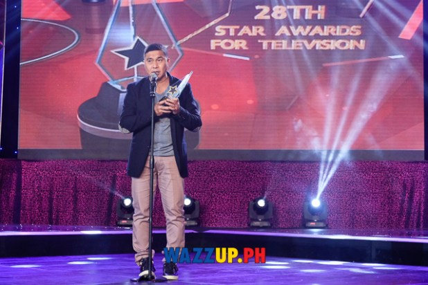 Jose Manalo - Best Single Performance by an Actor - 28th PMPC Star Awards for Television 2014-1057