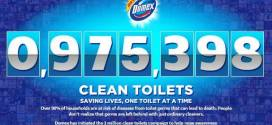 domex clean toilets