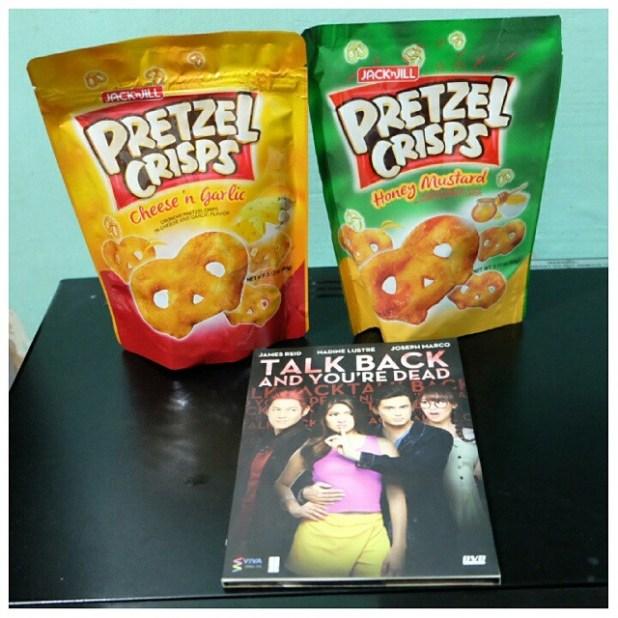 jackn jill pretzel Crisps with tbyd dvd