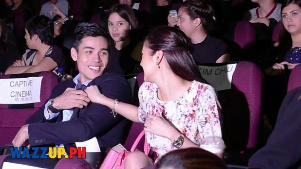"Kim Chiu makes ""kurot"" Xian Lim at the Paddington Celebrity Night 2"