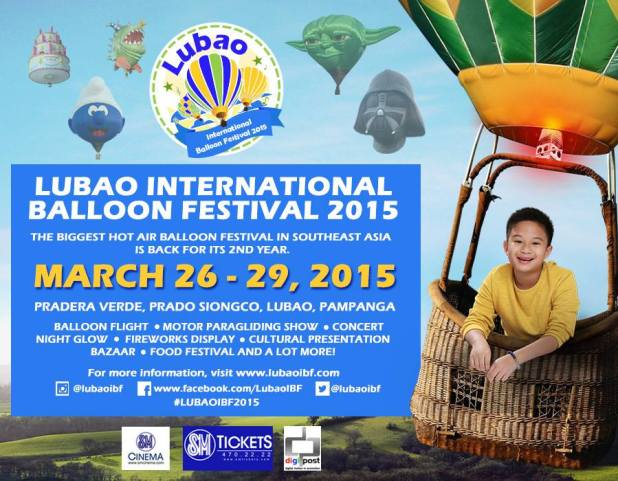 lubao international balloon festival 2015